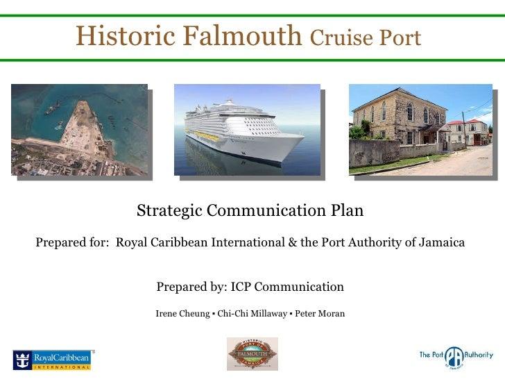 Strategic Communications Plan: Tourism