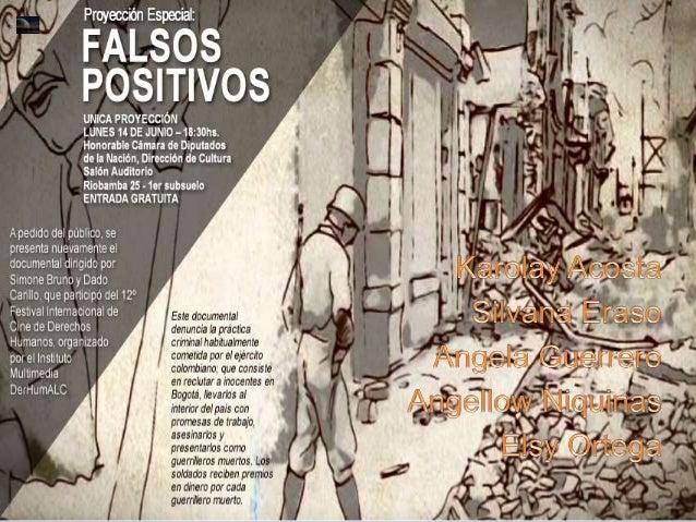 Falsos positivos
