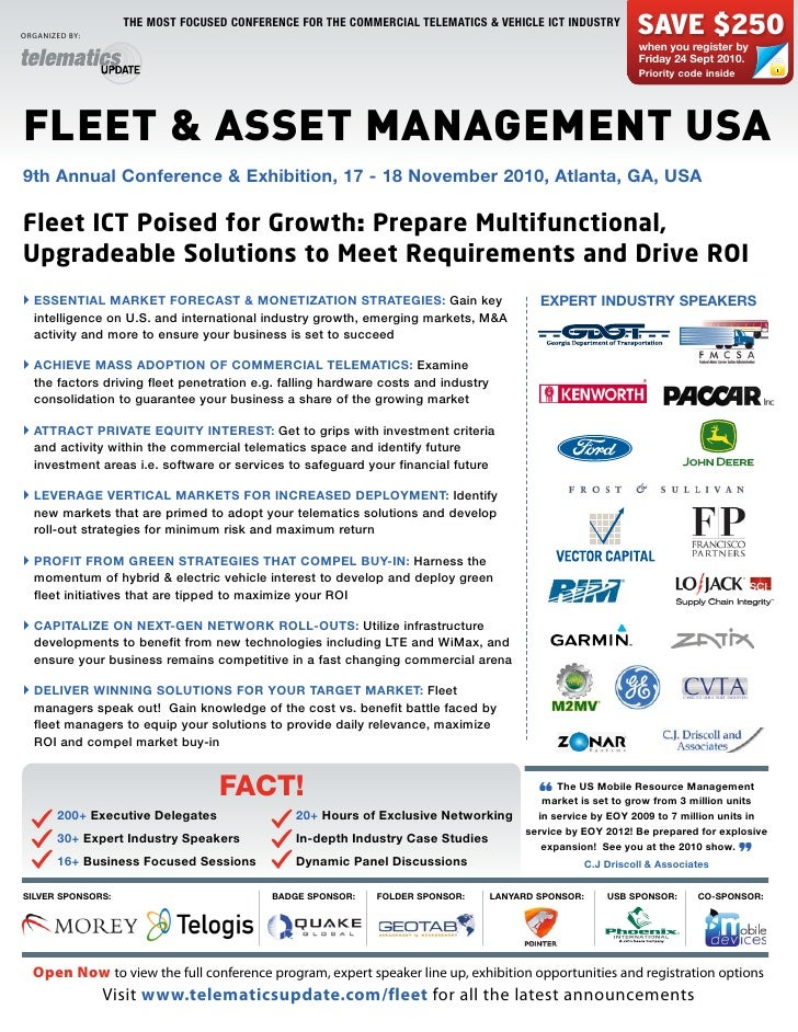 Fleet & Asset Management USA 2010