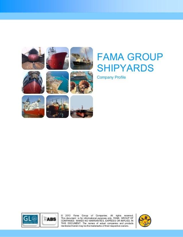 Fama group profile_2013