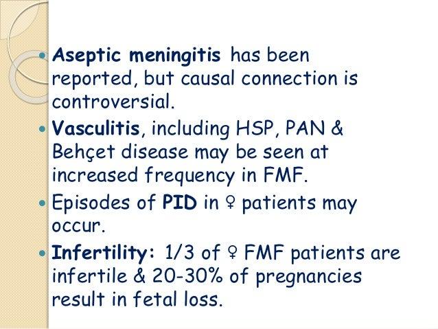 Reducing Fever Caused By Meningitis