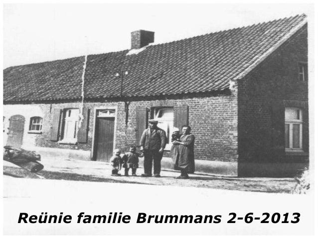 Reünie familie Brummans 2-6-2013
