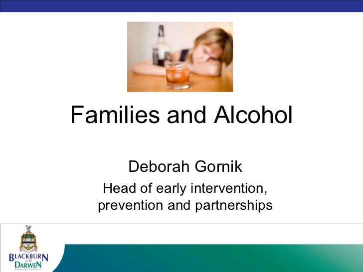 Families and alcohol
