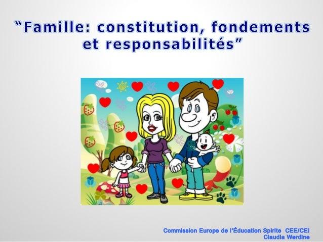 Commission Europe de l'Éducation Spirite CEE/CEI Claudia Werdine
