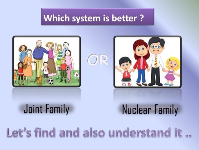 essay on joint family system