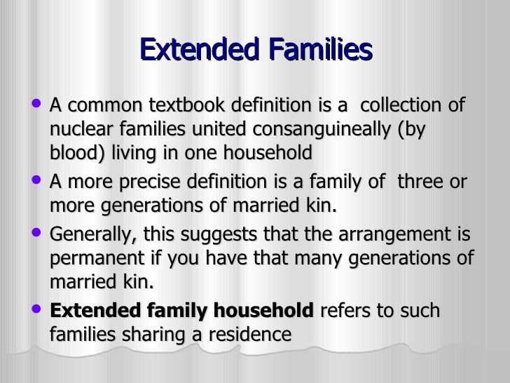 write definition essay family