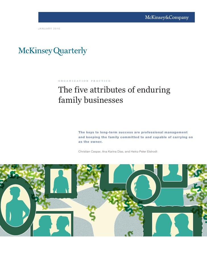 Family business by Mackinsey