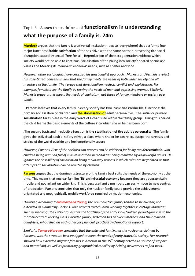 negative effect of nuclear family essay Nuclear family and extended family family is the most basic social unit in any society below is an essay on nuclear family and extended family from anti essays, your source for research on the other hand, overpopulation has a negative effect such as lack of privacy in these.
