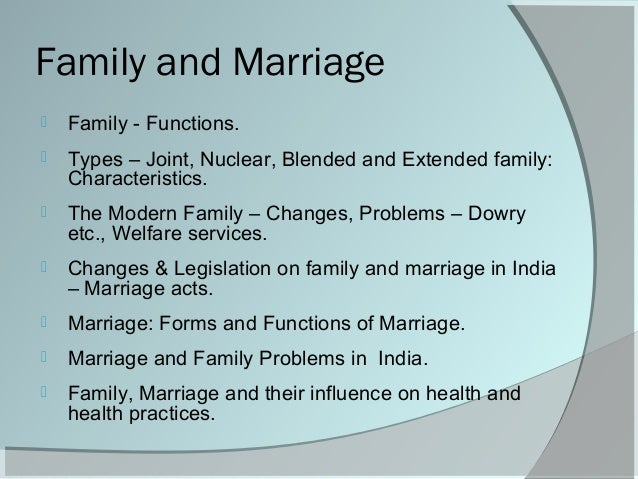 an analysis of family and marriage Start studying sociology final- chapter 13 learn  a social-exchange analysis of family life is likely to  -is not a very stable foundation for marriage.