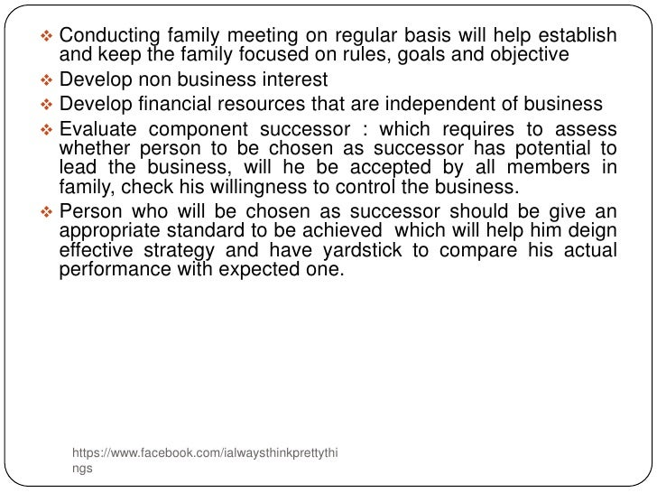 Meeting needs as an individual and a family?