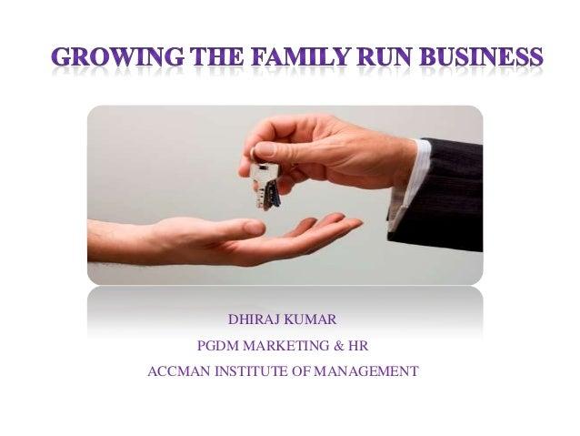 DHIRAJ KUMAR PGDM MARKETING & HR ACCMAN INSTITUTE OF MANAGEMENT
