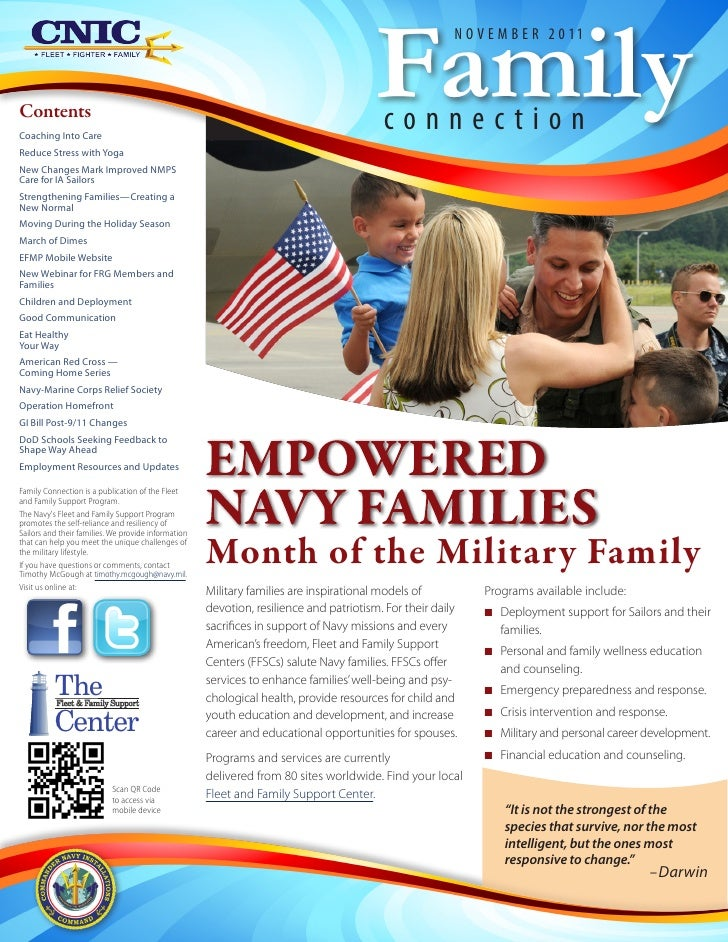 Family connections newsletter november 2011