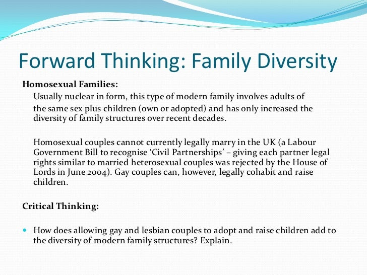 sociology essay on family diversity Sociology - essay about family diversity with strong presence of over 15 years in the custom-writing industry, superior papers is one of the most reliable services.