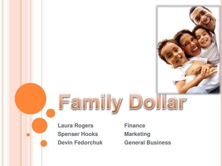 Family Dollar Three-Year Strategic Plan