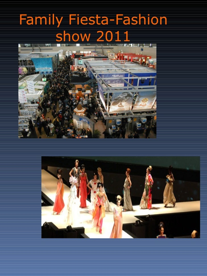 Family Fiesta-Fashion show 2011