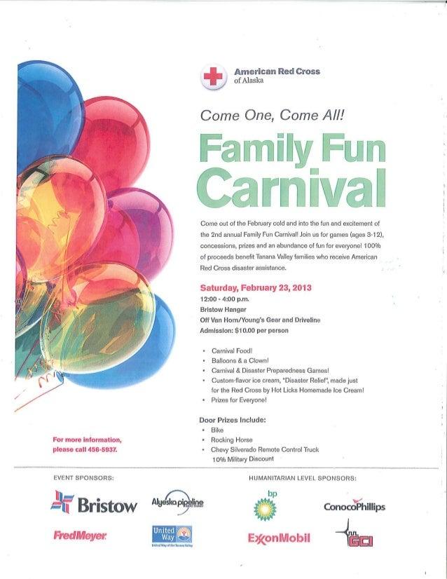 Family fun carnival