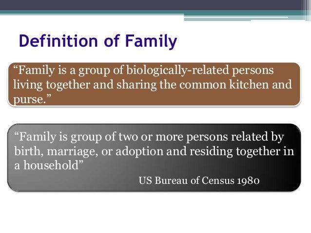 Broken family definition essay