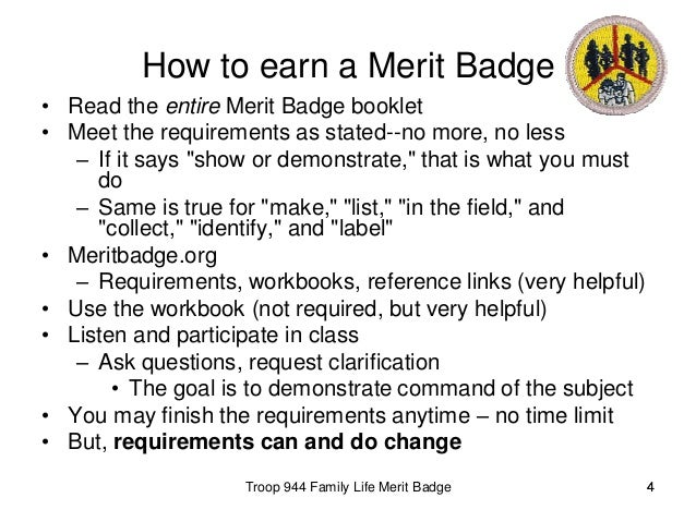 Pioneering Merit Badge Worksheet – Family Life Merit Badge Worksheet