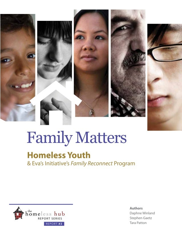 Family Matters: Homeless Youth & Eva's Initiative's Family Reconnect Program