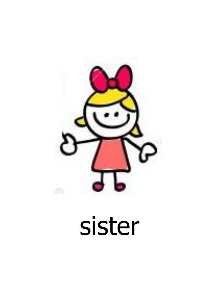 Family Members - Flashcards for First Grade