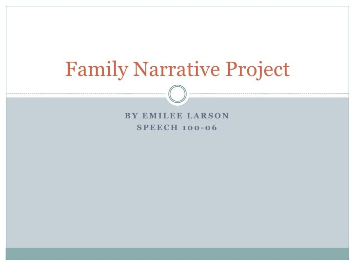 family narrative We build family narratives that thoughtfully capture your unique ancestry for generations to come let us craft yours before the memories are lost.