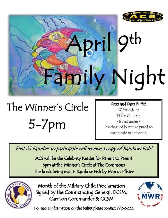Family Night April 9th