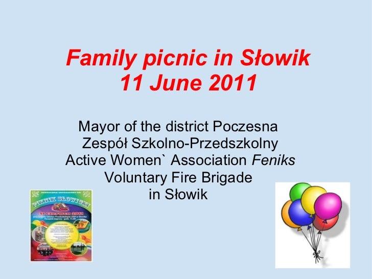 Local picnic in Slowik-11June2011