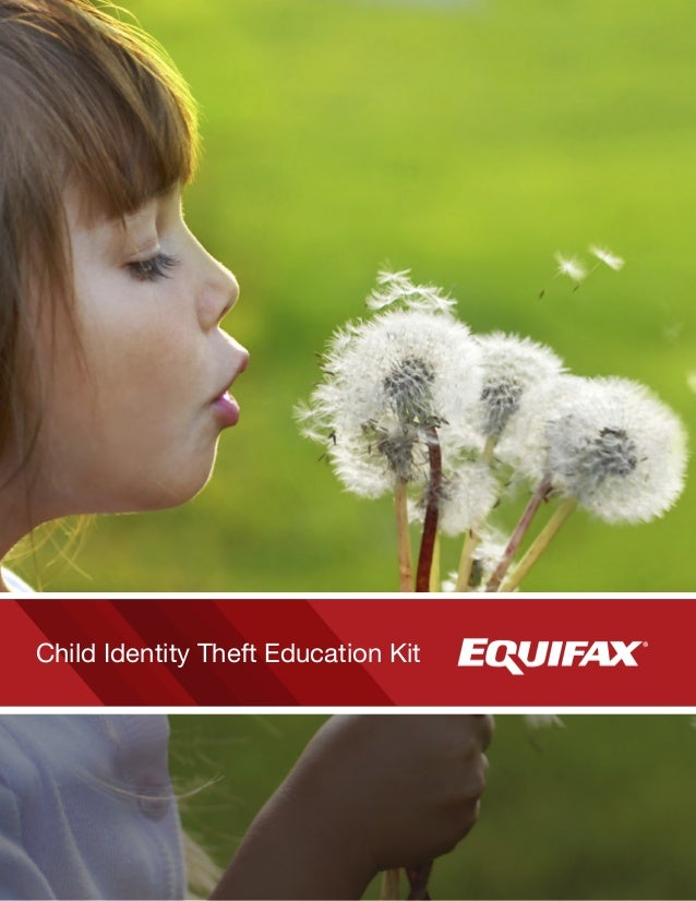Child Identity Theft Education Kit