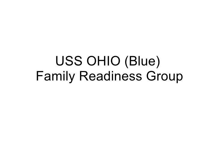USS OHIO (Blue)  Family Readiness Group