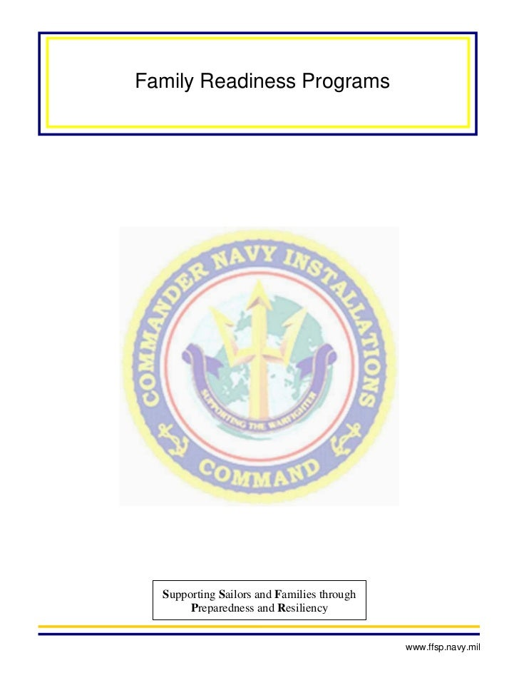 Family readiness programs