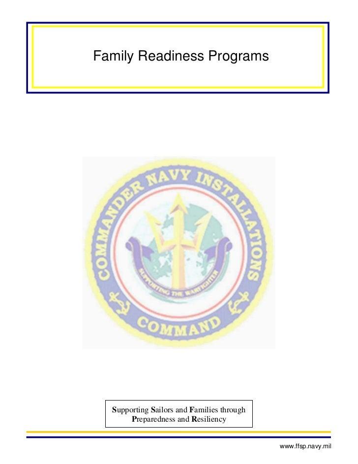 Family readiness programs