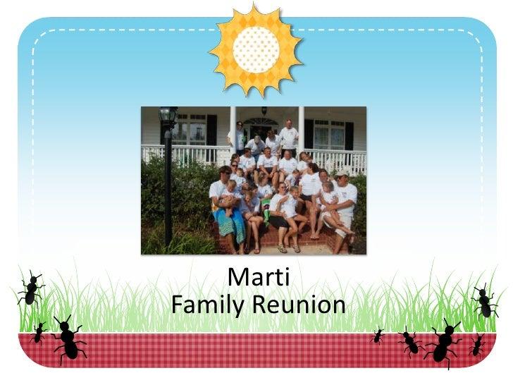 Marti Family Reunion 2010 1