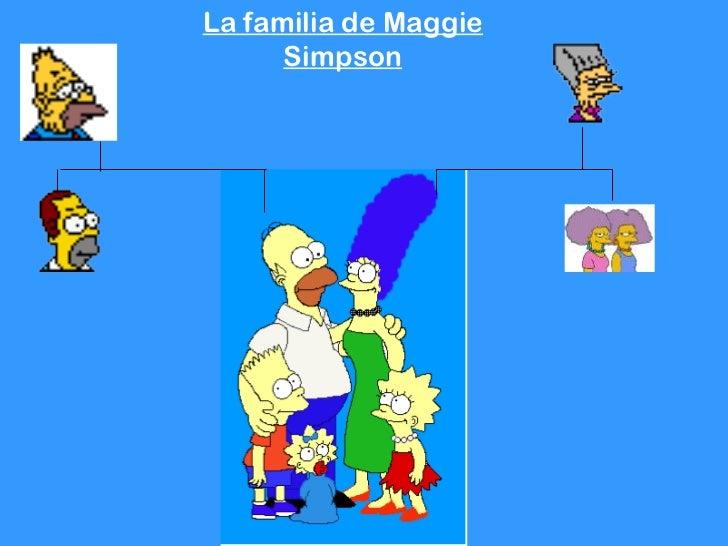 La familia de Maggie      Simpson