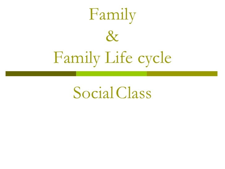 Family &Family Life cycle<br />SocialClass<br />