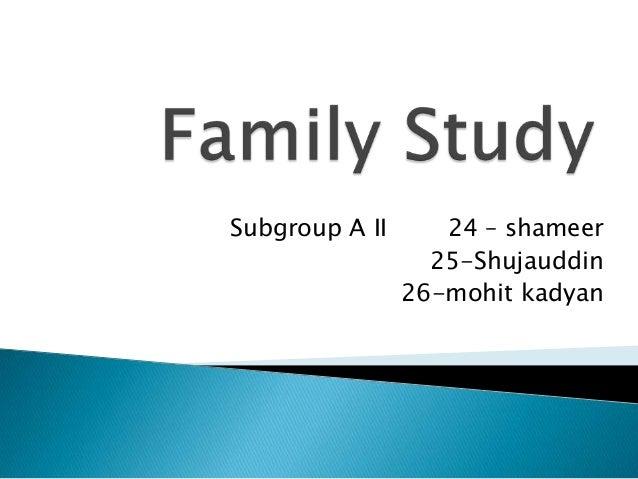 Subgroup A II 24 – shameer 25-Shujauddin 26-mohit kadyan