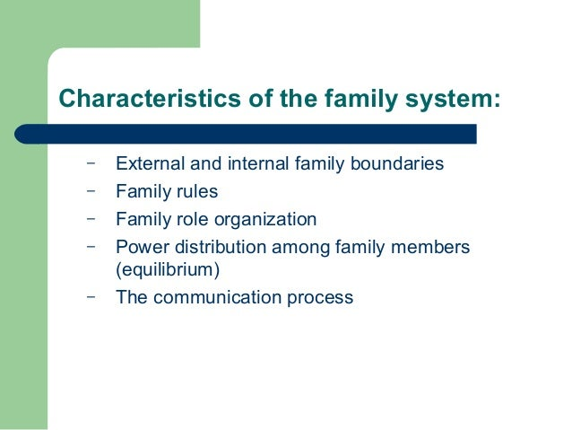 essays family systems theory Murray bowen's family systems theory, while relatively new and unfamiliar to   this essay illustrates how family systems theory can function as a critical.