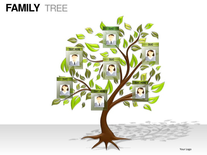 Family tree powerpoint presentation templates