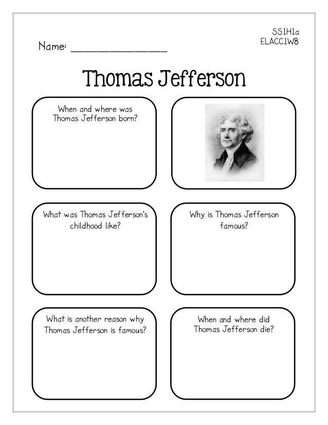 Alf img - Showing > Thomas Jefferson Activities