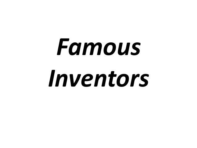 FamousInventors