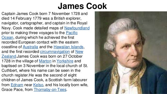 Captain Cook Facts For Kids