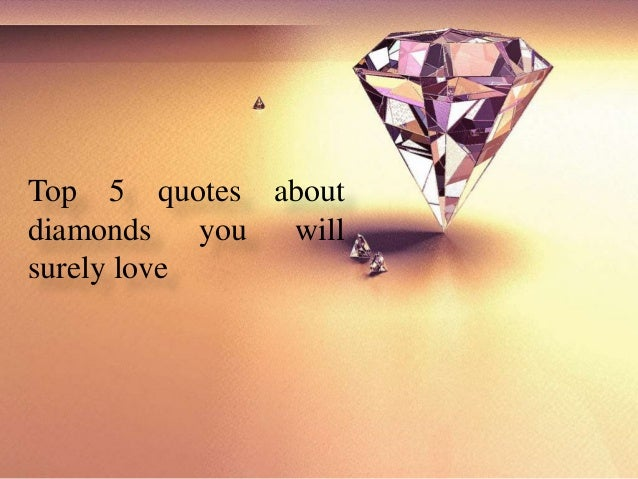 diamond quotes and sayings - photo #3