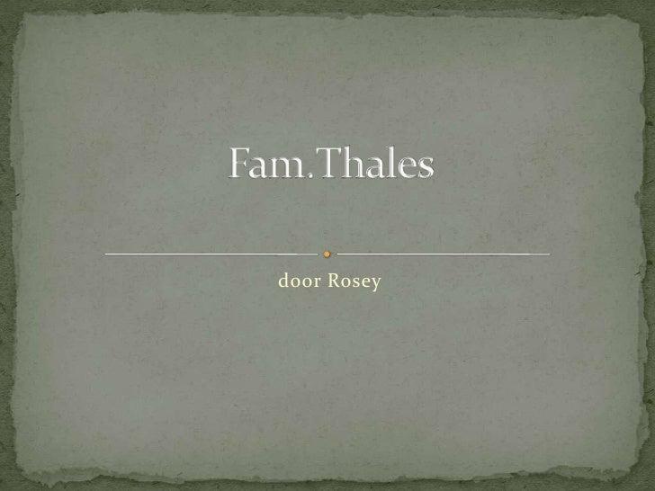 Fam Thales