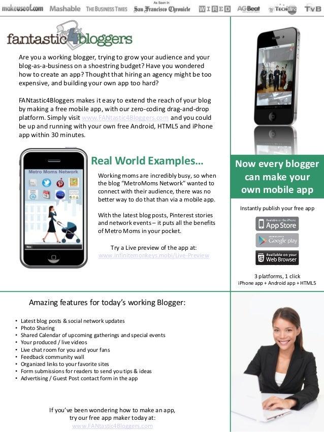 Fantastic4bloggers.com case study