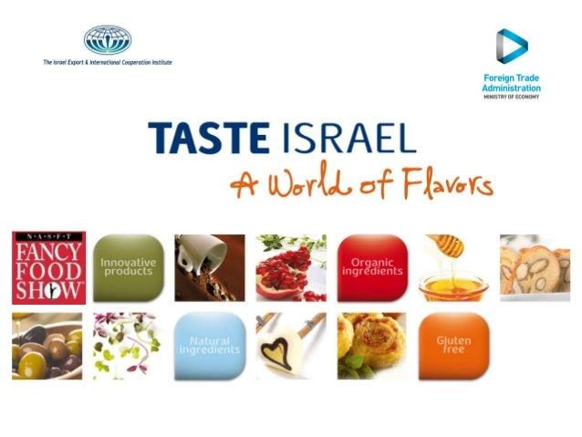 Fancy Food 2013 Taste Israel
