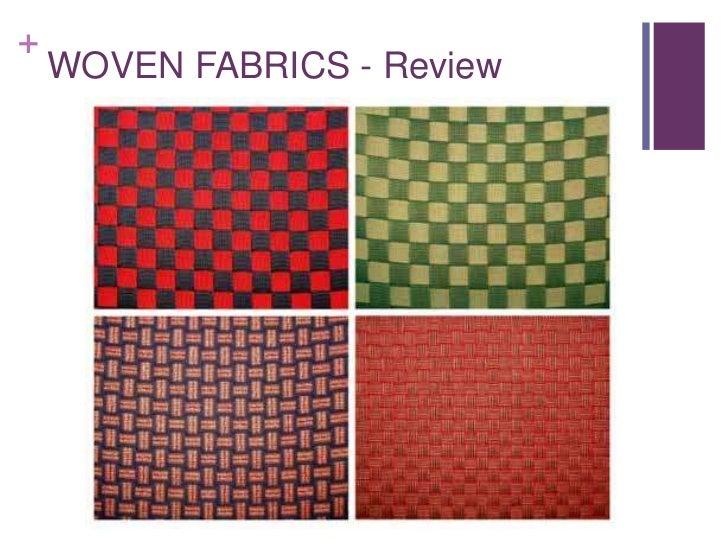 +    WOVEN FABRICS - Review