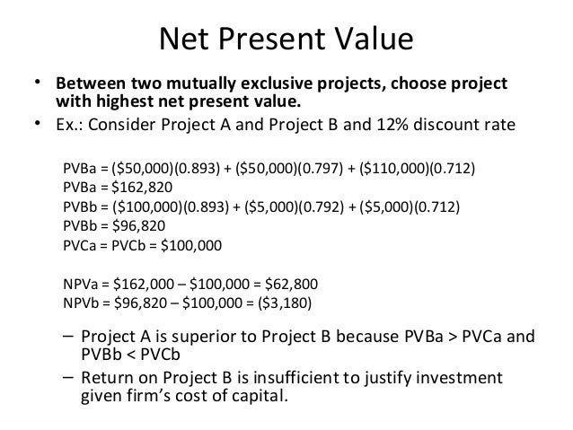project on capital budgeting case study