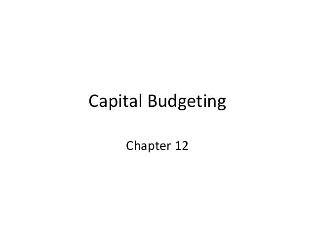 capital budgeting case study solution Access to case studies expires six months after purchase date publication date: april 11, 2014 sound financial management is the most important element in the viability of any business undertaking, and capital investment decisions are the foundation stone of this process a company can pursue either an internal, organic.