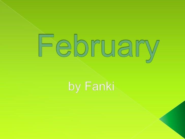 February<br />byFanki<br />