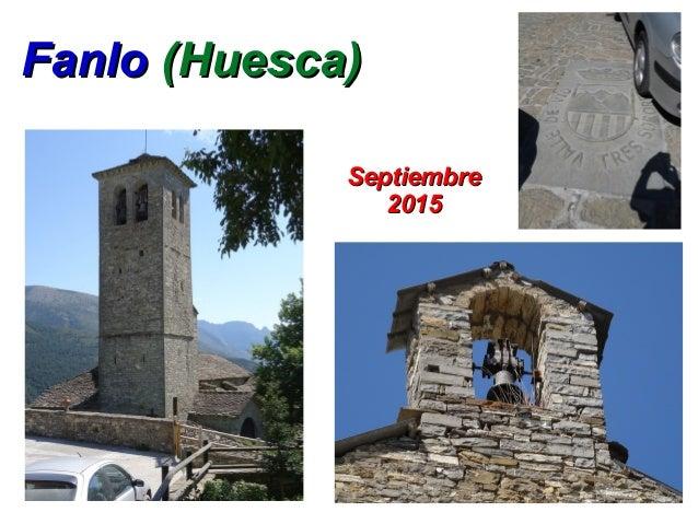 FanloFanlo (Huesca)(Huesca) SeptiembreSeptiembre 20152015