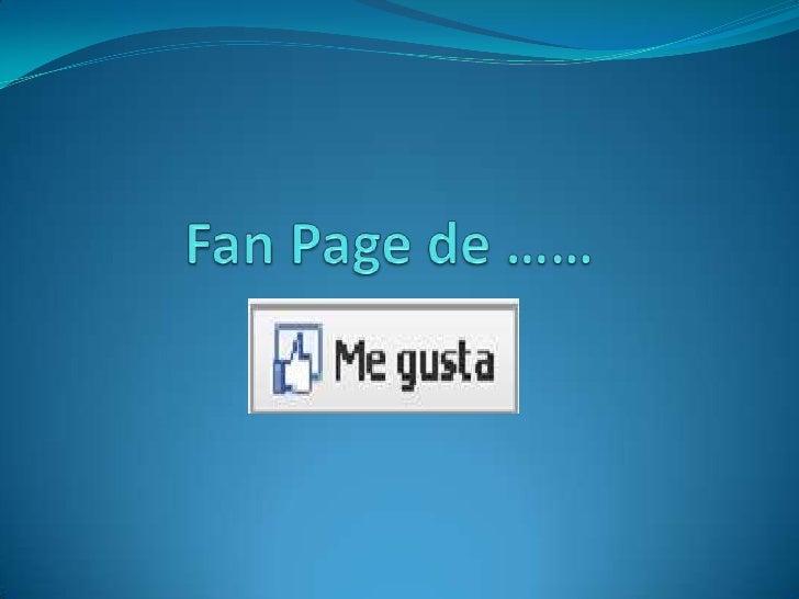 Fan Page de ……     Aplicaciones para instalar en tu Fan Page ……….Facebook permite agregar aplicaciones a tu Fan Page parab...